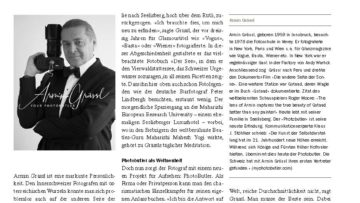 Another new article about The Photobutler Armin Grässl